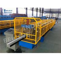 Cheap 10 - 15 M/Min Gutter Roll Forming Machine K Style O Gee Profile Producing Use for sale