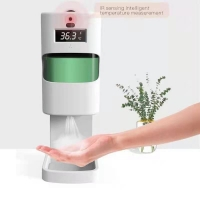China 1300ml Floor Stand Contactless Alcohol Gel Dispensers on sale