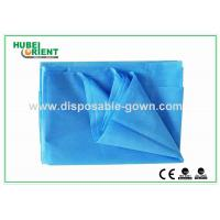 China Dust Proof PP Disposable Bed Sheets , Single / Double Bed Sheets For Hotels on sale