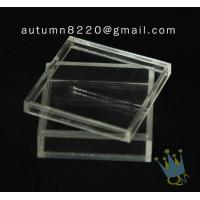 Quality BO (105) acrylic counter top display cases wholesale