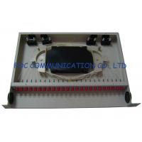 Quality Fixed Full Loaded Adapters 24 port fiber patch panel / fc patch panel wholesale