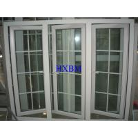 Quality Sound Insulation UPVC Windows And Doors With 19mm Double Hollow Clear Glazing wholesale