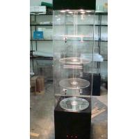 Quality Electronics Acrylic Pop Display Window Stand With Led Lights , Locks wholesale