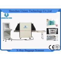 Quality Security Checking X Ray Parcel Baggage Scanner Machine 6550 With Uk Pcb Board wholesale