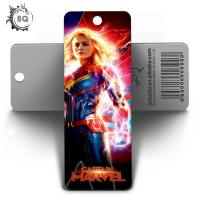 Quality Custom Lenticular Promotional 3d Holographic Bookmarks 0.6mm PET+157g Coated Paper wholesale