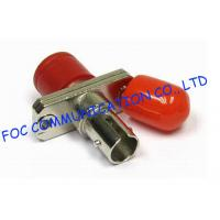 Quality Fiber Optic Couplers FC - ST High Precision Zirconia Ceramic Sleeve Stable For FTTX wholesale