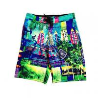Buy cheap Profession Colorful Printed Beach Wear, Breathable, Quick Dry, Soft and Comfortable from wholesalers