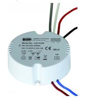 Quality Round Dimmable LED Driver For Constant Current Lamp 1-10V Dimming Way 13W 350mA wholesale