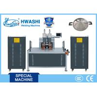 China 380V Cookware Spot Stainless Steel Automatic Welding Machine For Frying Pan / Pot on sale