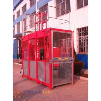 Quality Industrial  Durable Galvanized or Painted Construction Hoist Elevator Load 2 * 2000kg Lifting Height 150m wholesale