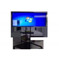 China Tempered Glass Screen LCD Digital Signage Display Multimedia Interactive Whiteboard on sale