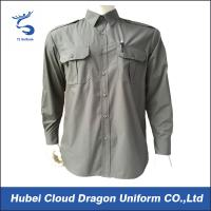 Aircraft Engineer Security Guard Shirts Work Wear Shirt For Men Customized Color