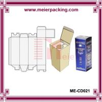 Quality Recycle wine packaging box, 100ml wine bottle paper box ME-CD021 wholesale