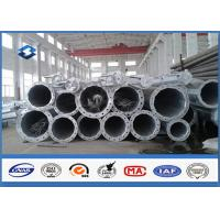 Quality HDG Electrical Tubular Steel Pole High strength low alloy structural steels wholesale