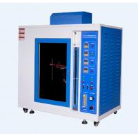 Buy cheap Automatic Ignition Mask Flame Retardant Performance Tester Flame temperature 800 from wholesalers