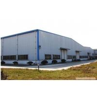 Cheap double span prefabricated steel buildings light for Steel frame barns for sale