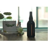 Quality Blown Cutting Glass Wine Bottles 1 Liter Glass Liquor Bottles Customized wholesale
