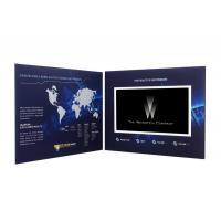 """Buy cheap 5""""TFT screen video mailer , video brochure card with Rechargeable Battery from wholesalers"""
