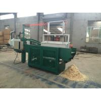 Quality Automatic wood shaving machine for animal bedding / Hydraulic Vertical Metering Baler for sale wholesale