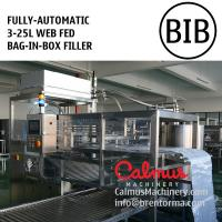 China Fully-automatic Boxed Water Bag Filler Bag in Box Filling Machine on sale