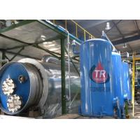 Professional Waste Oil Distillation Equipment High Recycling Rate ISO Certified
