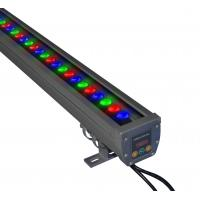 Quality 18W / 36W 24V DC High Power RGB Led Light Bar, IP65 Led Wall Washer Light wholesale