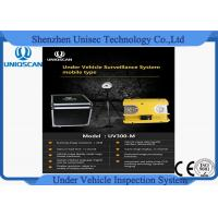 Quality UV300M Under Vehicle Inspection System With High Resolution CCD Camera wholesale