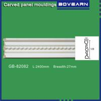 Quality Polyurethane chair rail moulding white primed color customized OEM accepted wholesale