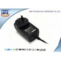 Quality CEC VI high Efficiency AU Plug Wall Mount Power Adapter 12V 1A For Game Player wholesale