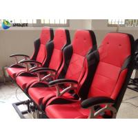 Quality Superduty Interative 4D Motion Theater Chair 4D Movie Theater Electric Mobile Seats wholesale