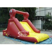 Quality Indoor small octopus kids inflatable slide made of lead free pvc tarpaulin for parties wholesale