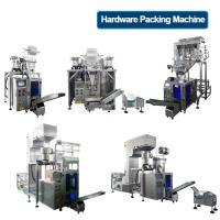Quality Automatic Eletric Hardware Packaging Machine With 4 Heads Linear Weigher wholesale