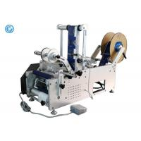 Quality Manual Table Top Bottle Labeling Machine  ,  Round Plastic Bottle Labeling Machine wholesale