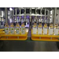 Quality Efficient Bottle Rotary Sticker Labeling Machine Equipment PLC touch screen wholesale