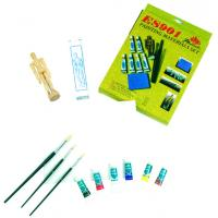 Quality Fine Art Painting Set Art Kits For Teenager Manikin Canvas Panel Included wholesale