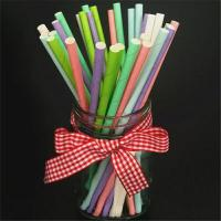 Quality Beautiful Decorative Paper Straws Drinking Straws Fit Family Gatherings wholesale