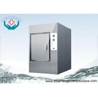 Quality Motorized Hinge Door Autoclave Steam Sterilizer With Silicone Gasket wholesale