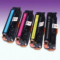 China Printer Color Toner Cartridges with Chip, Compatible for HP CC530A-CC533A on sale