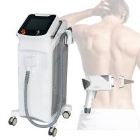 Quality Hair Removal Laser Beauty Machine 808 High Power 2 Spot Size In 1 Handpiece wholesale