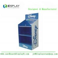 Quality 3 Tiers Cardboard Display Rack , Shop Retail Product Promotional Display Stands wholesale