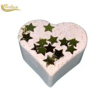 Quality Personalized Heart Shape Fizzy Bubble Bath Bomb For Women / Girl Gift wholesale