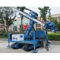 Quality Pipe Shed Engineering  Crawler Drilling rig With Big Arm Anchor hole wholesale