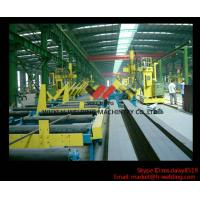 Quality 45° Fillet Welding Flat Position Gantry Welding Machine With SAW Welder for H Beam Production wholesale