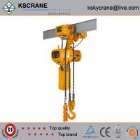 2.5ton Electric Chain Hoist With Electric Trolley