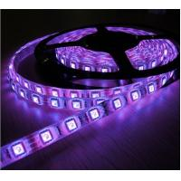 China DC12V 5050 RGB Flexible LED Strip Lights Low Power For Theater 14.4W Epistar Chip on sale