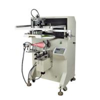 China Conical semi-automatic screen printing machine on sale