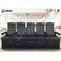 Quality Luxury Motion Chair 5 Seats 4D Cinema System With Spray Air / Vibration wholesale