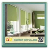 Quality Sunscreen Home Textile Fabric , Printed Curtain Blackout Roller Blinds wholesale