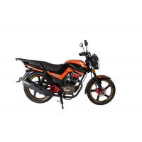 Buy cheap Front Rear Disc Gas Powered Mini Motorcycle 125cc Road Bike Low Emission from wholesalers