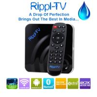Quality Rippl-TV Newest Products 2015 Amlogic S802 Quad Core XBMC Android OTT TV Box Streaming Media Player wholesale
